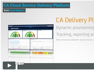 CA Cloud Service Delivery Platform