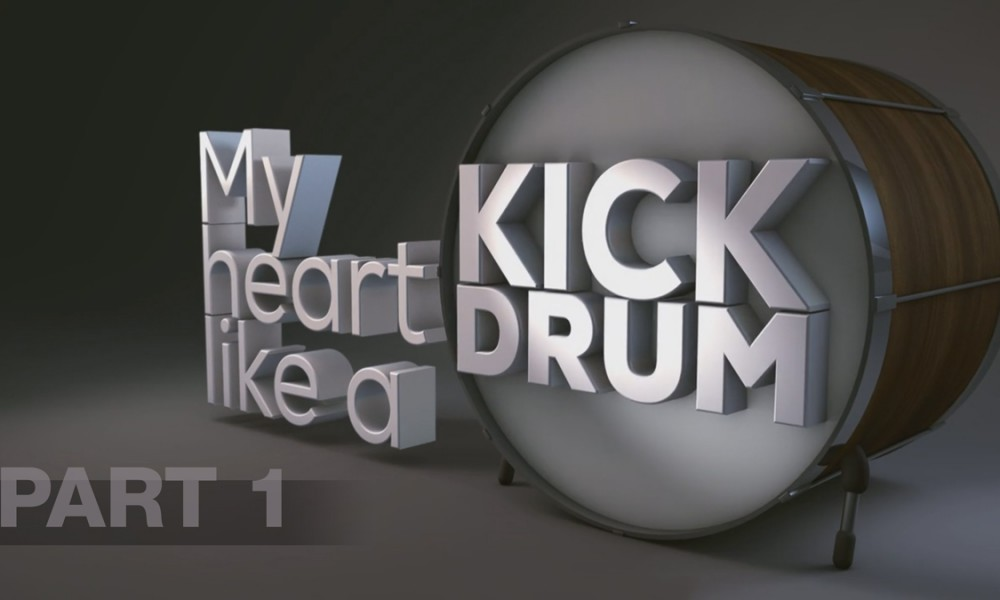 Tut: Kickdrum Heart 3D with Cinema 4D Part 1